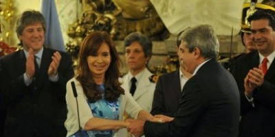 An&iacute;bal Fern&aacute;ndez jur&oacute; como Secretario General de la Presidencia  <div> </div>