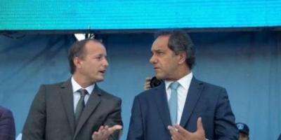 Scioli e Insaurralde se elogiaron en un acto en Lomas pero evitaron definiciones electorales  <div> </div>