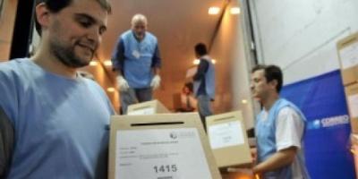 Se inició el operativo de despliegue de urnas y boletas de votación para las PASO porteñas
