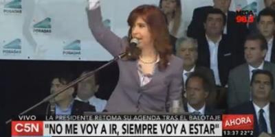 """Cristina: """"No es lo mismo un país que una empresa, que nadie se confunda"""""""