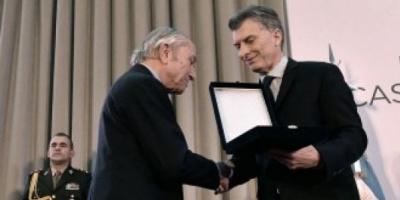"""Macri: """"Queremos representar los valores de don Arturo con honestidad, decencia y patriotismo"""""""