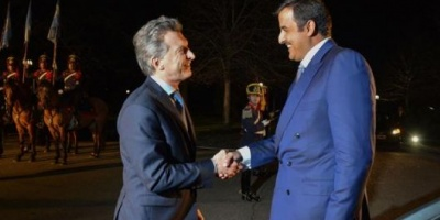 Mauricio Macri firmó convenios con el Emir de Qatar