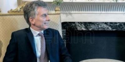 Mauricio Macri recibe a directivos de IPLAN y brinda una conferencia de prensa en Olivos
