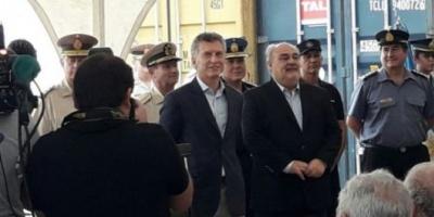 Macri firm&oacute; acuerdo de seguridad en Corrientes para la lucha contra el narcotr&aacute;fico en la frontera  <div> </div>