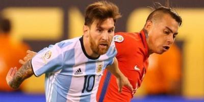 Con gol de Messi, Argentina venció a Chile y vuelve a puestos de clasificación directa al Mundial