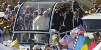 """El Papa advirtió en zona mapuche que """"la violencia vuelve mentirosa la causa más justa"""""""