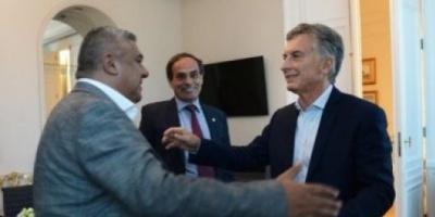 Reunión clave entre Mauricio Macri y Claudio Tapia por la candidatura para el Mundial 2030