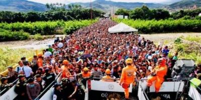 El éxodo masivo de Venezuela ya es comparable con el registrado en Siria y Myanmar