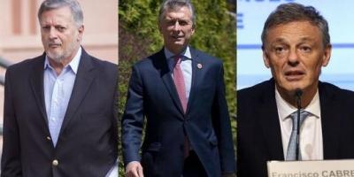 Macri profundiza cambios en el Gabinete: desplazó a los ministros Aranguren y Cabrera