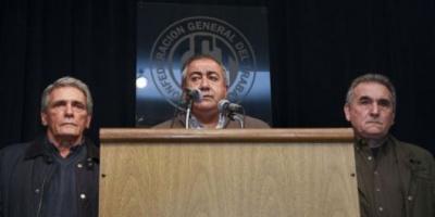 CGT canceló su plan: no renovará sus autoridades y sigue el triunviro hasta 2020
