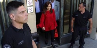 Cuadernos: Declara Cristina Kirchner ante el juez Bonadio