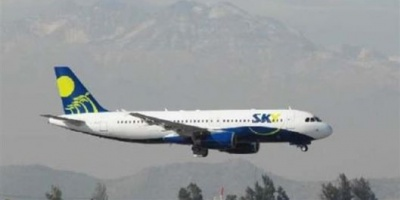 Autorizan nueva ruta a low cost chilena Sky Airlines  <div> </div>