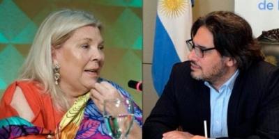 Carrió presentó el pedido de juicio político a Garavano: Es por hechos, no por dichos