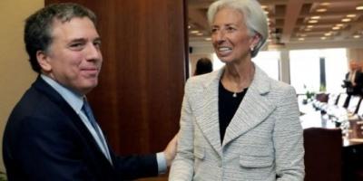 Dujovne y Sandleris se reunirán con Lagarde