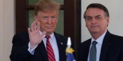 """Trump recibió a Bolsonaro en EEUU: """"El crepúsculo del socialismo ha llegado a nuestro hemisferio"""""""