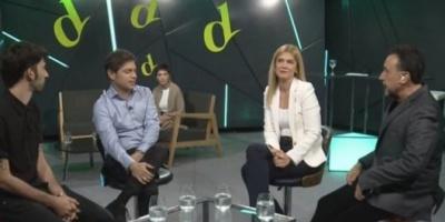 Axel Kicillof en El Destape: Hay prioridades que no son ni de izquierda ni de derecha
