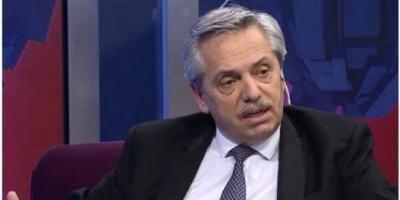 """Alberto Fernández: """"Voy a debatir pero espero que esta vez Macri no mienta"""""""