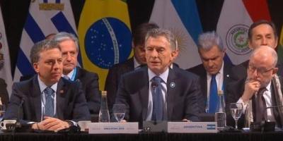 """Cumbre Mercosur: Macri pidió que Maduro """"cese con las violaciones de los Derechos Humanos""""  <div> </div>"""