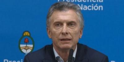 """Macri culpó al kirchnerismo por el desplome de los mercados: """"No tienen credibilidad"""""""