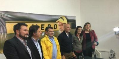 """Gómez Centurión, con Olmedo, llevó su campaña """"provida"""" al norte"""
