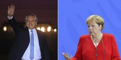 Angela Merkel recibirá a Alberto Fernández el próximo 3 de febrero