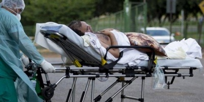 Coronavirus: Brasil reporta 67 muertos en un día y los fallecidos suman 553