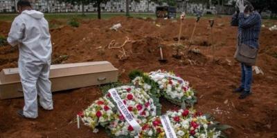 Coronavirus en Brasil: 26.928 casos y 1.124 muertos en las últimas 24 horas  <div> </div>