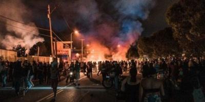 Tensión en la Casa Blanca: marcha contra Trump para pedir justicia por George Floyd