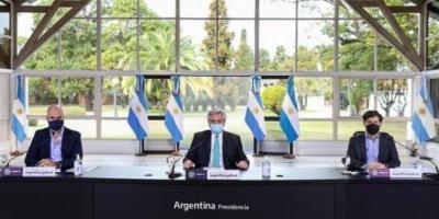 """Cuarentena sin cambios: """"Hasta el 16 de agosto vamos a mantener las cosas como están hoy"""", dijo Alberto Fernández"""