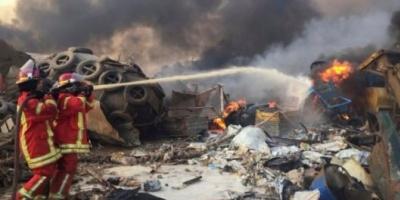 Impresionante explosión en el puerto de Beirut: estalló un depósito y hay al menos 73 muertos
