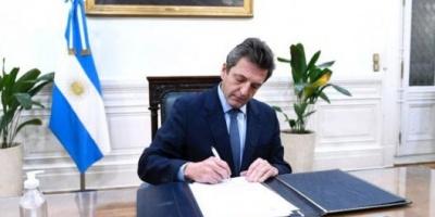 """Massa: """"El mérito central del acuerdo es del Presidente de la Nación y del ministro de Economía"""""""