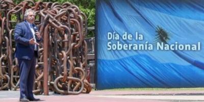 """Alberto Fernández: """"Peleamos por la soberanía cultural, tecnológica, científica y alimenticia del país"""""""