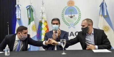 Guzmán visitó Chaco y confirmó que el Gobierno no seguirá con el IFE y el ATP