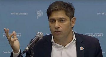 """Vacunas: Axel Kicillof le pidió a Almeyda que vaya a """"leer las leyes argentinas"""""""